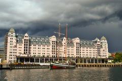 Kanal von Oslo lizenzfreie stockfotografie