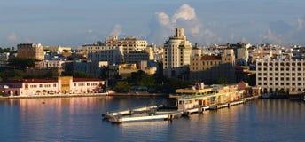 Kanal von Puerto Rico Stockfotos