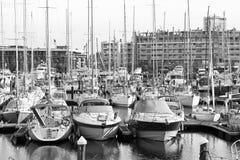 Kanal von Rimini Stockbilder