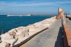 Kanal von Rimini Lizenzfreie Stockfotos