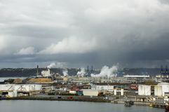 Kanal von Tacoma Stockbilder