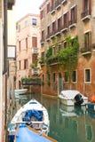 Kanal von Venedig Lizenzfreie Stockfotos