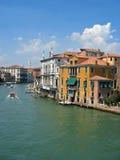 Kanal von Venedig Stockbild