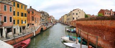 Kanal von Venedig Stockfotos