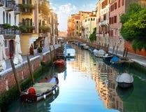 Kanal von Venedig stockfoto
