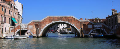 Kanal von Venedig Stockbilder