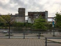 Kanalansicht 1 Montreals Lachine lizenzfreie stockfotos