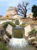 kanalbevattning Royaltyfri Foto