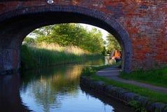 Kanalbrücke lizenzfreies stockfoto