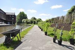 Kanaldragväg Royaltyfria Foton