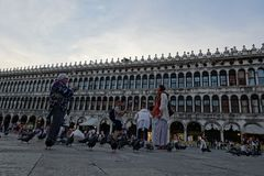 St. Marks Square in Venice. Italy. stock images
