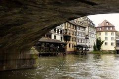 Kanalen 1 van Rijn Stock Afbeelding