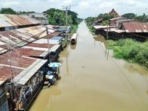 Kanalen Royaltyfri Bild