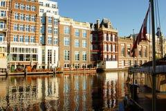 Kanalen in Amsterdam Royalty-vrije Stock Foto's