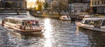 Kanalen av Berlin Royaltyfria Foton