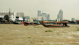 Kanalen in Bangkok. Stock Afbeelding