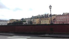 Kanalen en bruggen in Florence royalty-vrije stock foto's