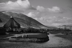 Kanalen, Tralee Royaltyfri Foto