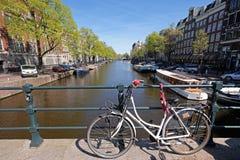 Kanalen van Amsterdam Royalty-vrije Stock Afbeelding