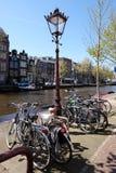 Kanalen van Amsterdam Royalty-vrije Stock Afbeeldingen