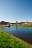 Kanalen van de stad Stock Afbeelding