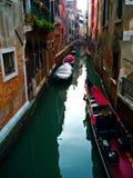 Kanalen van Venetië Stock Foto