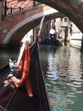 Kanalen van Venetië, Italië Stock Afbeelding