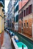 Kanalen van Venetië, murano, burano Stock Afbeelding