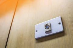 Kanalentsprechungsmikrofon Lizenzfreies Stockbild