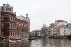 Kanalerna av Amsterdam Royaltyfria Foton