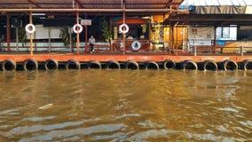 Kanalhamn Arkivbild
