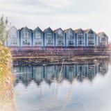 Kanalhamnplats royaltyfri bild