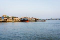 Kanalhusen Arkivbild
