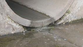 Kanalizacyjna zanieczyszczanie drymba zbiory wideo