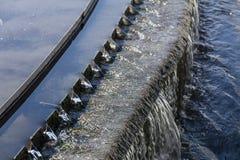 Kanalizacyjnej wody treatmen obrazy stock