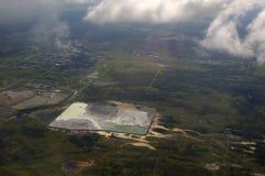 kanalizacyjny zakład przeróbki dla rudnego zakładu przetwórczego obrazy stock