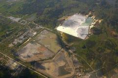 kanalizacyjny zakład przeróbki dla rudnego zakładu przetwórczego obraz royalty free