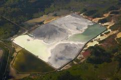 kanalizacyjny zakład przeróbki dla rudnego zakładu przetwórczego zdjęcia stock