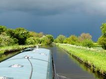 Kanallandskap Arkivfoton