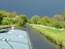 Kanallandskap Royaltyfri Bild