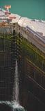 kanalport panama arkivfoton