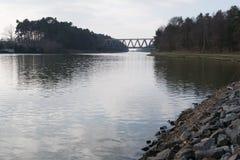 Kanalvatten Arkivbilder