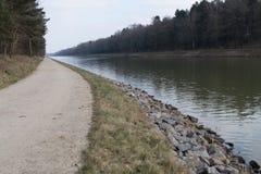 Kanalwasser Stockbild
