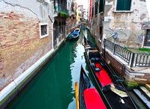 Kanalwasser Venedigs Italien Lizenzfreies Stockfoto