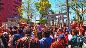 Kanamara Matsuri. The Shinto Kanamara Matsuri (Festival of the Steel Phallus) is held each spring at the Kanayama shrine in Kawasaki, Japan. The exact dates vary stock photography