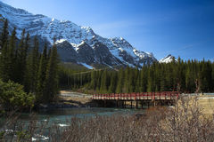 Kananaskis Bridge Stock Images