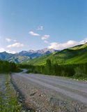 Kananaskis Country Road Alberta Canada Royalty Free Stock Images