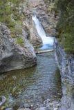 Kananaskis för vatten för bandliten vikkanjon land Alberta Foothills Canada royaltyfri fotografi