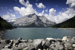 Kananaskis górny jezioro Obraz Royalty Free
