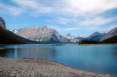 Kananaskis lake. Beautiful upper lake in kananaskis country, alberta, canada Stock Photography